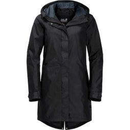 Jack Wolfskin Womens Monterey Coat Black