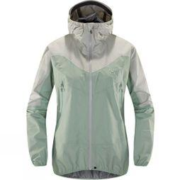 Haglofs Womens L.I.M Comp Jacket Blossom Green  /  Haze