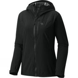 Mountain Hardwear Womens Stretch Ozonic Jacket Black