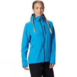 Mountain Hardwear Womens Stretch Ozonic Jacket Electric Sky