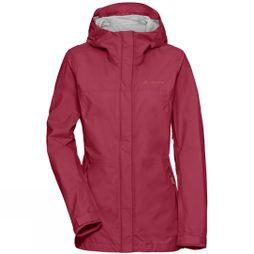 Vaude Womens Lierne II Jacket Red Cluster