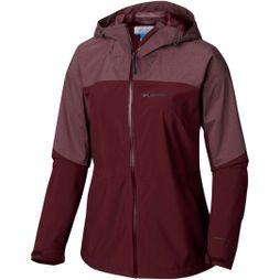 Columbia Womens Evolution Valley II Jacket Deep Madeira