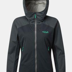 Rab Womens Kinetic Alpine Jacket  Beluga