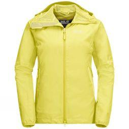 Jack Wolfskin Womens Sierra Pass Jacket Lemon