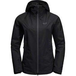 Jack Wolfskin Womens Scenic Trail Jacket Black