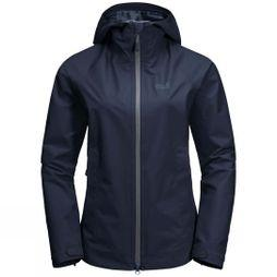 Jack Wolfskin Womens Scenic Trail Jacket Midnight Blue