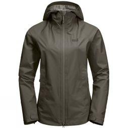 Jack Wolfskin Womens Scenic Trail Jacket Grape Leaf