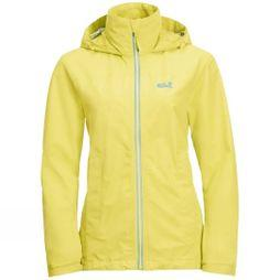 Jack Wolfskin Womens Evandale Jacket Lemon