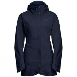 Jack Wolfskin Womens Ruunaa Jacket Midnight Blue