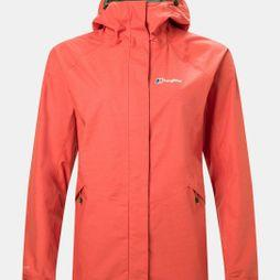 Berghaus Womens Alluvion Shell Jacket Aura Orange