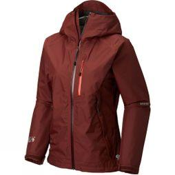 Mountain Hardwear Womens Exposure/2 GTX Paclite Jacket Dark Umber