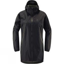 Haglofs Womens L.I.M Proof Parka True Black