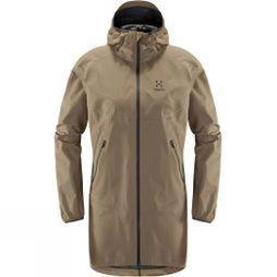 Haglofs Womens L.I.M Proof Parka Dune