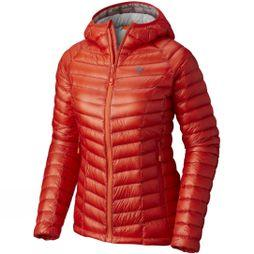 Mountain Hardwear Women's Ghost Whisperer Down Hooded Jacket Fiery Red