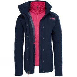 The North Face Womens Synthetic Insulated Triclimate Jacket Urban Navy Light Heather
