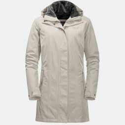 Jack Wolfskin Womens Madison Avenue Coat Dusty Grey