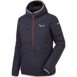 Salewa Womens Puez Tirol Wool Half Zip Jacket Premium Navy