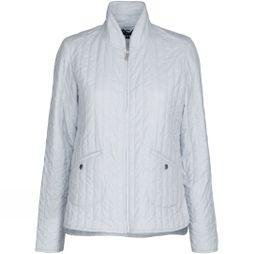 Ilse Jacobsen Womens Quilt03 Light Quilt Jacket White Blue