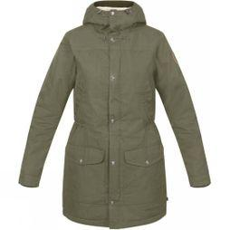 Fjallraven Womens Greenland Winter Parka Laurel green