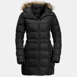 Jack Wolfskin Womens Baffin Island Coat Black