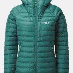 Rab Womens Microlight Alpine Jacket Atlantis