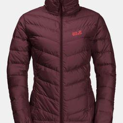 Jack Wolfskin Womens Helium High Jacket Fall Red