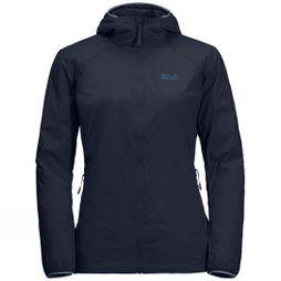 Jack Wolfskin Womens Opouri Peak Jacket Midnight Blue