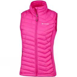 Columbia Womens Powder Pass Vest Haute Pink