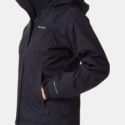 Columbia Womens Venture On Interchange 3-in-1 Jacket Black