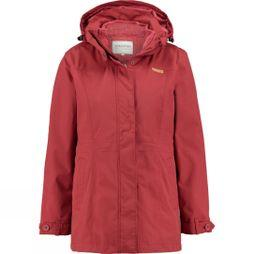 Ayacucho Womens Ontario 3 in 1 Jacket Rosewood