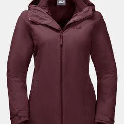 Jack Wolfskin Womens Norrland 3In1 Jacket Fall Red