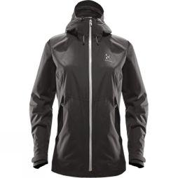 Haglofs Womens EskerJacket  True Black