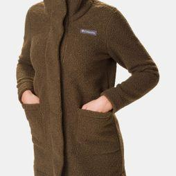 Columbia Womens Panorama Long Jacket Olive Green