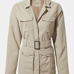 Craghoppers Womens NosiLife Lucca Jacket Desert Sand