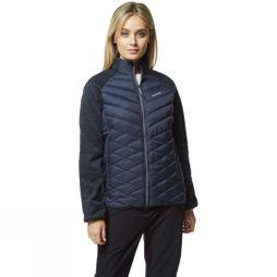 Craghoppers Womens Delta Lite Hybrid Jacket Blue Navy