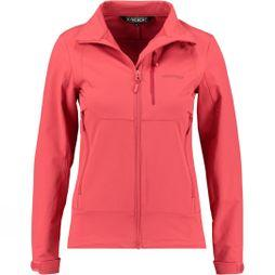 Ayacucho Womens Pacer Softshell Cranberry