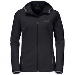 Jack Wolfskin Womens Turbulence Jacket Black