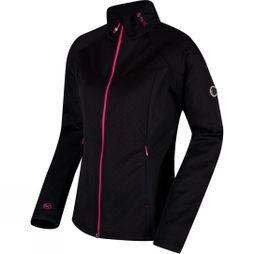 Regatta Womens Esteli Hybrid Softshell Jacket Black/Black