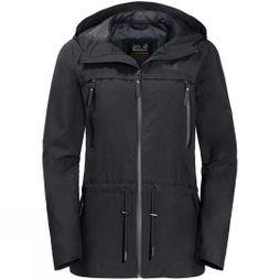 Jack Wolfskin Womens Fairview Jacket Black