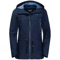 Jack Wolfskin Womens Fairview Jacket Midnight Blue