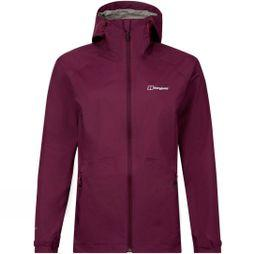 Berghaus Womens Deluge Pro Shell Jacket Winter Bloom