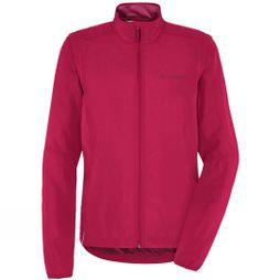 Vaude Womens Dundee Classic Zip Off Jacket Crimson Red