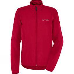 Vaude Womens Dundee Classic Zip Off Jacket Indian Red