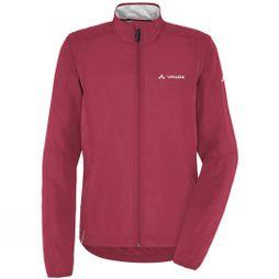 Vaude Womens Dundee Classic Zip Off Jacket Red Cluster