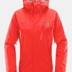 Haglofs Womens Astral Jacket Real Red