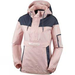 Columbia Womens Challenger Windbreaker Jacket Dusty Pink