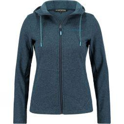 Ayacucho Womens Sunset Hoodie Dark Navy Melange