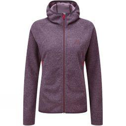 Mountain Equipment Womens Kore Hooded Jacket Blackberry