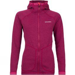 Berghaus Womens Redonda Hooded Jacket Sangria/Poinsettia