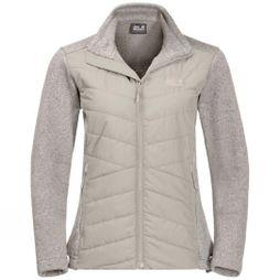 Jack Wolfskin Womens Caribou Crossing Fleece Dusty Grey